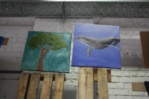 baleine et arbre